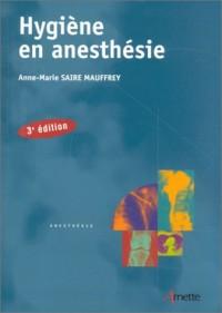 Hygiène en anesthésie