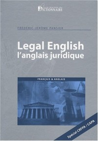 Legal English : L'anglais juridique
