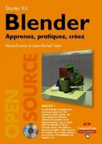 Blender : Apprenez, pratiquez, créez (1DVD)