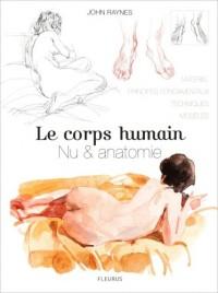 Le corps humain : Nu et anatomie, Le dessin de modèle vivant étape par étape