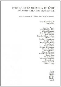 Derrida et la question de l'art : le défi de l'esthétique