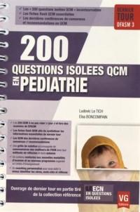 200 questions isolées QCM en pédiatrie