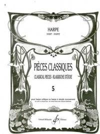 Pieces Classiques pour Harpe Volume 5
