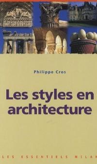 Les styles en architecture