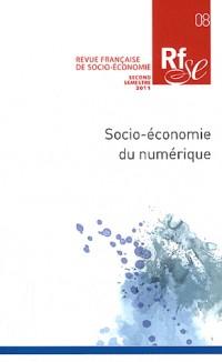 Revue française de socio-économie, N° 8, second semestr : Socio-économie du numérique