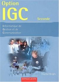 Informatique de gestion et de communication dans les organisations 2nde