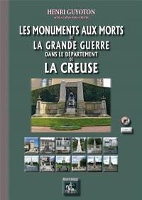 Les Monuments aux Morts de la Grande Guerre - Département de la Creuse