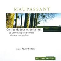 Contes du jour et de la nuit, tome1 : Crime au Père Boniface et autres contes (1CD audio)
