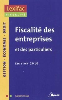 Fiscalité des entreprises et des particuliers