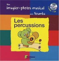 Mon imagier-photos musical : Les percussions ( + 1 CD audio)