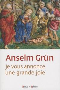 Je vous annonce une grande joie : Un livre de Noël