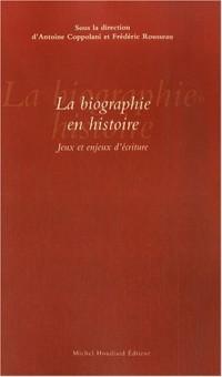 La biographie en histoire