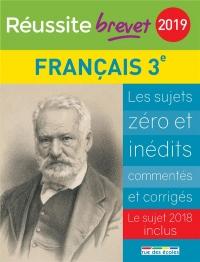 Réussite brevet 2019 - Français