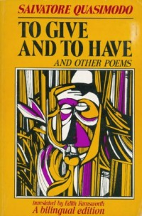 To Give and to Have, and Other Poems.