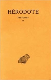 Histoires, tome 9. Calliope, livre 9