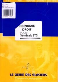 Economie Droit pour Terminale Stg. la Pochette Eleve