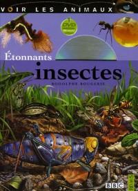 Voir les animaux (1livre + 1 DVD) : Etonnants insectes
