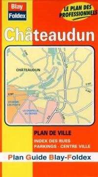 Plan de ville : Châteaudun (avec un index)