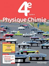 Physique chimie 4e Cycle 4