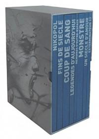 Coffret en 8 volumes : Coup de sang ; Monstre ; Un siècle d'amour ; Nikopol ; Fins de siècle ; Exterminateur 17 ; Mémoires d'outre-espace ; Légendes d'aujourd'hui