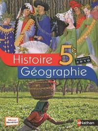Histoire-géographie 5e : Programme 2010