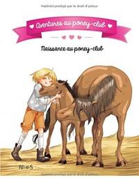 Aventures au poney-club : Naissance au poney-club