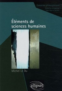 Eléments de sciences humaines