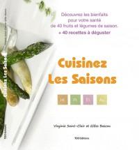 Cuisinez les Saisons avec Virginie Saint Clair