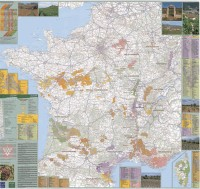 Vins de France : 1/1 000 000, Poster
