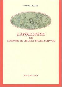 L'Apollonide de Leconte de Lisle et Franz Servais