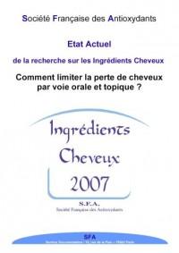 Ingrédients cheveux et phanères 2007