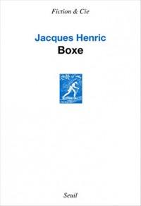 Boxe - Prix Medicis Essai 2016