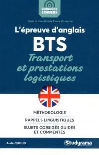 L'épreuve d'anglais au BTS transport logistique