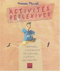 Activités réflexives : Cycle 3
