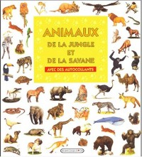 Animaux de la jungle et de la savane