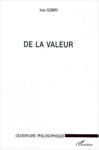 De la valeur