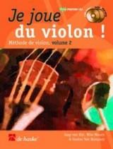 Je joue du violon vol 2 (+2 CDs) - Violon - De Haske