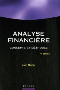 Analyse financière : Concepts et méthodes