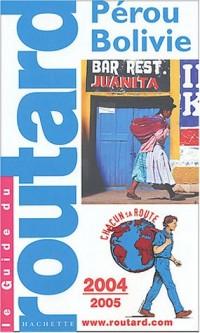 Pérou - Bolivie, édition 2004-2005