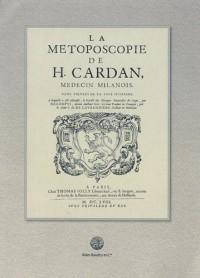 La Métoposcopie de H. Cardan