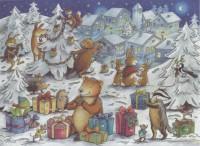 Calendrier de l'Avent Noël des Animaux