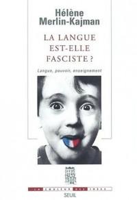 La langue est-elle fasciste ?