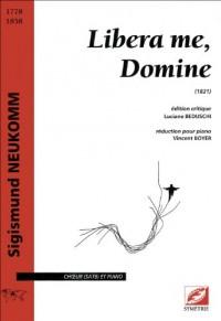 Libera me, Domine pour choeur et orchestre (réduction chant-piano)