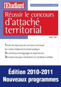 REUSSIR LE CONCOURS D'ATTACHE TERRITORIAL