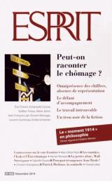 Revue Esprit n° 409 novembre 2014 Peut-on raconter le chômage