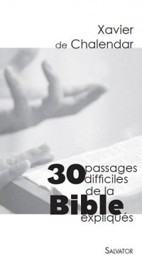 30 passages difficiles de la Bible