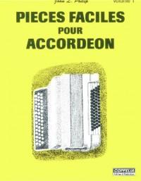 Partitions: Accordéon vol. 1 pièces faciles
