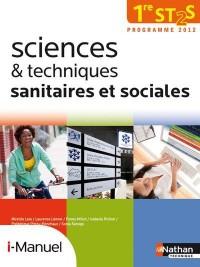 Sciences et Techniques Sanitaires et Sociales 1e St2s Licence Numerique Eleve I-Manuel+Ouvr Papier