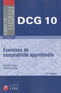 Exercices de comptabilité approfondie DCG 10