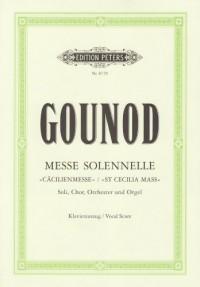 Messe solennelle (Cäcilienmesse), Klavierauszug